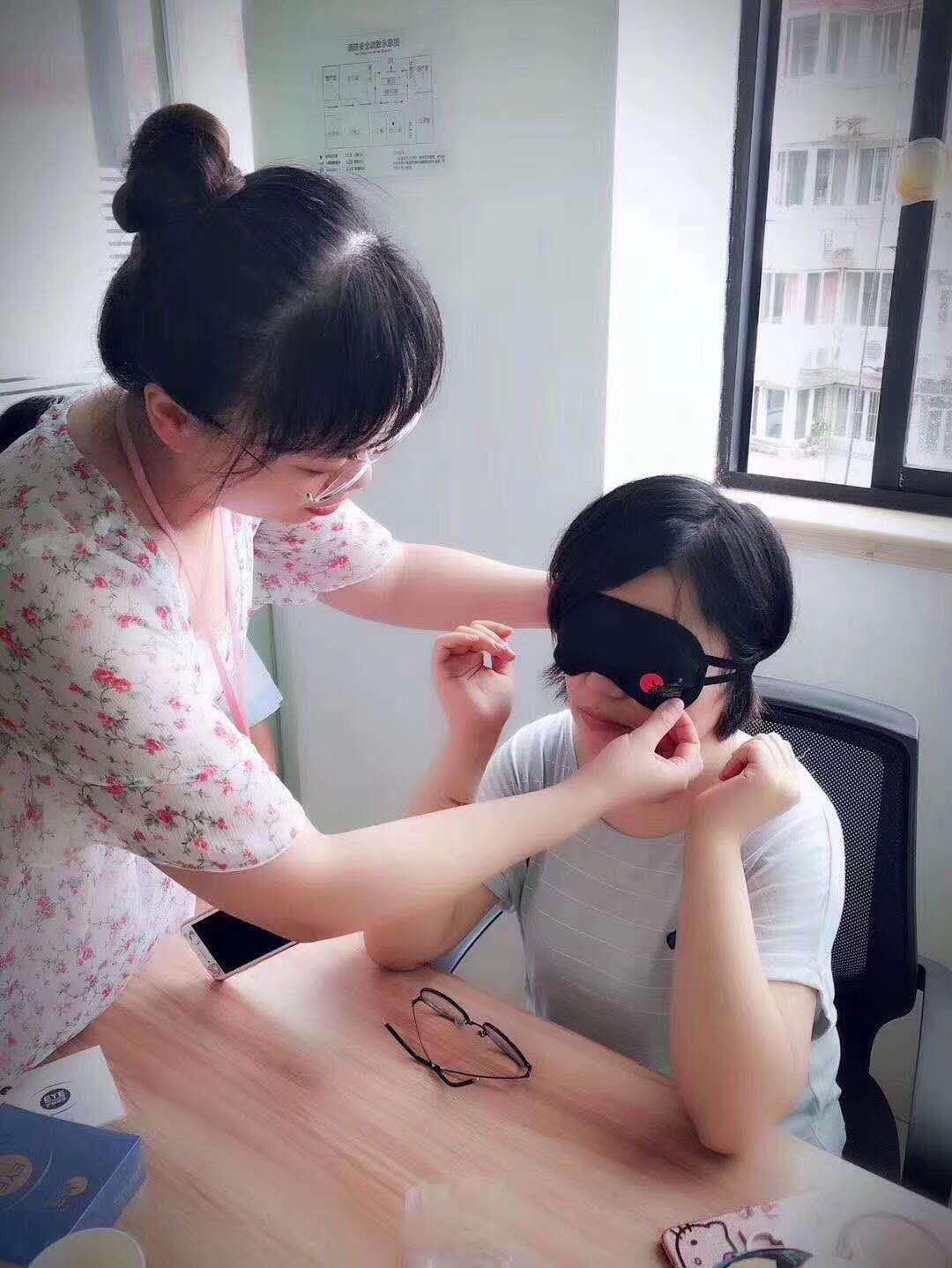 我们因为一盒小小的眼罩而相聚相识